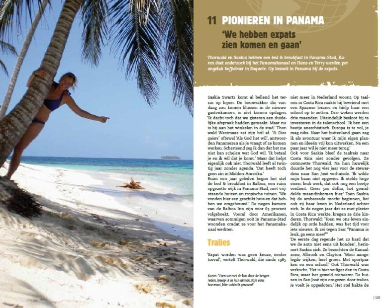Pionieren in Panama